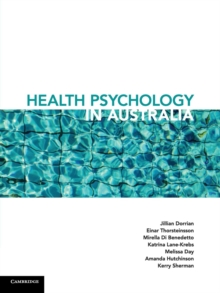 Health Psychology in Australia, Paperback Book