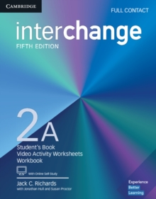 Interchange Level 2A Full Contact with Online Self-Study, Mixed media product Book