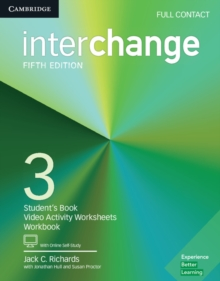 Interchange Level 3 Full Contact with Online Self-Study, Mixed media product Book