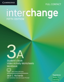 Interchange Level 3A Full Contact with Online Self-Study, Mixed media product Book