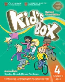 Kid's Box Level 4 Student's Book American English, Paperback Book