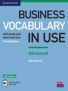 Business Vocabulary in Use: Advanced Book with Answers and Enhanced ebook : Self-study and Classroom Use, Mixed media product Book