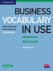 Business Vocabulary in Use: Advanced Book with Answers, Paperback Book