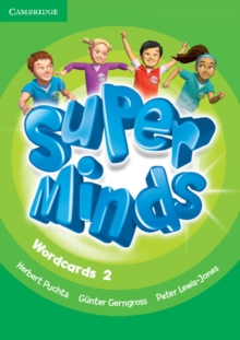 Super Minds Level 2 Wordcards (Pack of 90), Cards Book
