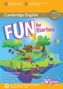 Fun for Starters Student's Book with Online Activities with Audio, Mixed media product Book