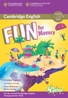 Fun for Movers Student's Book with Online Activities with Audio, Mixed media product Book