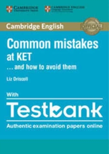 Common Mistakes at Ket... and How to Avoid Them Paperback with Testbank, Mixed media product Book
