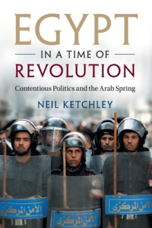 Egypt in a Time of Revolution : Contentious Politics and the Arab Spring, Paperback Book