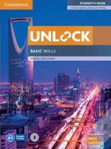 Unlock Basic Skills Student's Book with Downloadable Audio and Video, Mixed media product Book