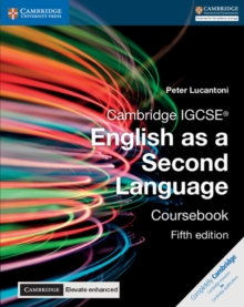 Cambridge IGCSE (R) English as a Second Language Coursebook with Cambridge Elevate Enhanced Edition (2 Years), Mixed media product Book