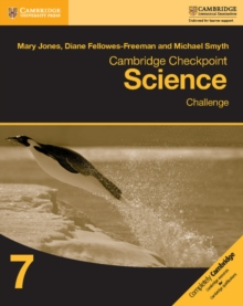 Cambridge Checkpoint Science Challenge Workbook 7, Paperback Book