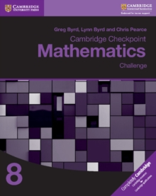 Cambridge Checkpoint Mathematics Challenge Workbook 8, Paperback / softback Book