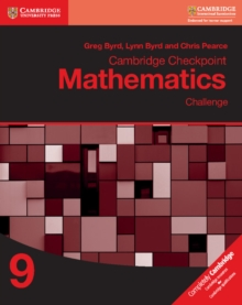 Cambridge Checkpoint Mathematics Challenge Workbook 9, Paperback / softback Book
