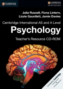Cambridge International AS and A Level Psychology Teacher's Resource CD-ROM, CD-ROM Book