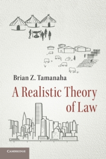 A Realistic Theory of Law, Paperback Book