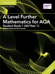 A Level Further Mathematics for AQA Student Book 1 (AS/Year 1) with Cambridge Elevate Edition (2 Years), Mixed media product Book