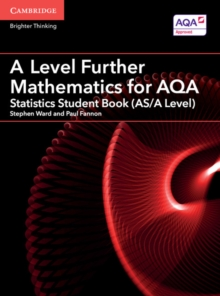A Level Further Mathematics for AQA Statistics Student Book (AS/A Level), Paperback / softback Book