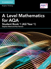 A Level Mathematics for AQA Student Book 1 (AS/Year 1) with Cambridge Elevate Edition (2 Years), Mixed media product Book