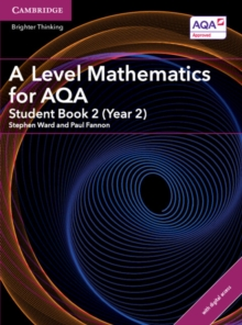 A Level Mathematics for AQA Student Book 2 (Year 2) with Cambridge Elevate Edition (2 Years), Mixed media product Book
