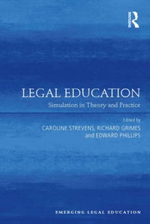 Legal Education : Simulation in Theory and Practice, EPUB eBook