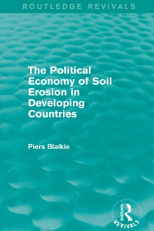The Political Economy of Soil Erosion in Developing Countries, EPUB eBook