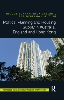 Politics, Planning and Housing Supply in Australia, England and Hong Kong, EPUB eBook