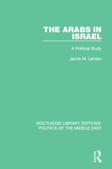 The Arabs in Israel : A Political Study, PDF eBook