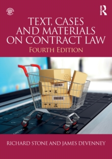 Text, Cases and Materials on Contract Law, PDF eBook
