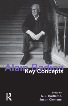 Alain Badiou : Key Concepts, PDF eBook