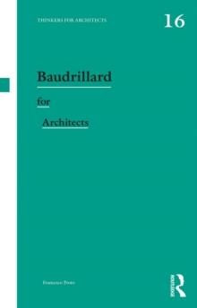 Baudrillard for Architects, PDF eBook