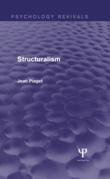 Structuralism (Psychology Revivals), EPUB eBook