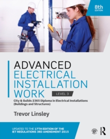 Advanced Electrical Installation Work 2365 Edition : City and Guilds Edition, PDF eBook