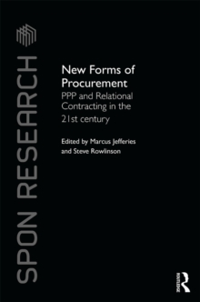 New Forms of Procurement : PPP and Relational Contracting in the 21st Century, EPUB eBook