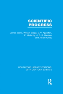 Scientific Progress, EPUB eBook