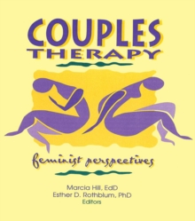 Couples Therapy : Feminist Perspectives, PDF eBook