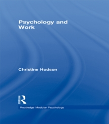 psychology of work