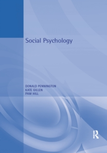Social Psychology, PDF eBook