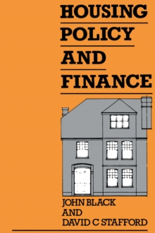 Housing Policy and Finance, PDF eBook