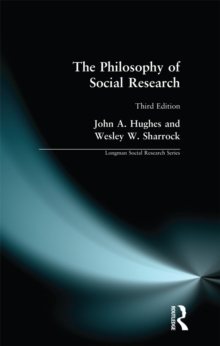 The Philosophy of Social Research, EPUB eBook