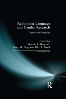 Rethinking Language and Gender Research : Theory and Practice, PDF eBook
