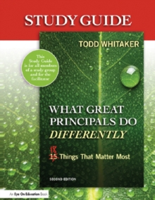 Study Guide: What Great Principals Do Differently : Eighteen Things That Matter Most, EPUB eBook