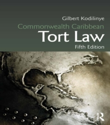 Commonwealth Caribbean Tort Law, PDF eBook