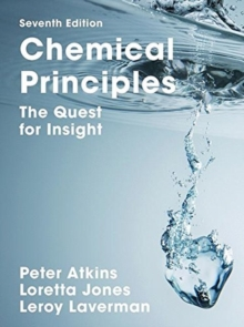 Chemical Principles : The Quest for Insight, Hardback Book