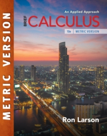 Calculus: An Applied Approach, Brief, International Metric Edition, Paperback Book