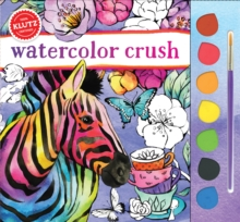 Watercolor Crush, Mixed media product Book