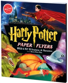 Harry Potter Paper Flyers, Mixed media product Book