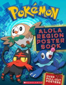 Pokemon: Alola Region Poster Book, Paperback / softback Book