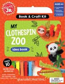 My Clothespin Zoo, Mixed media product Book
