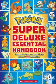 Pokemon: Super Deluxe Essential Handbook, Paperback / softback Book