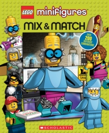 LEGO Minifigures: Mix and Match, Board book Book